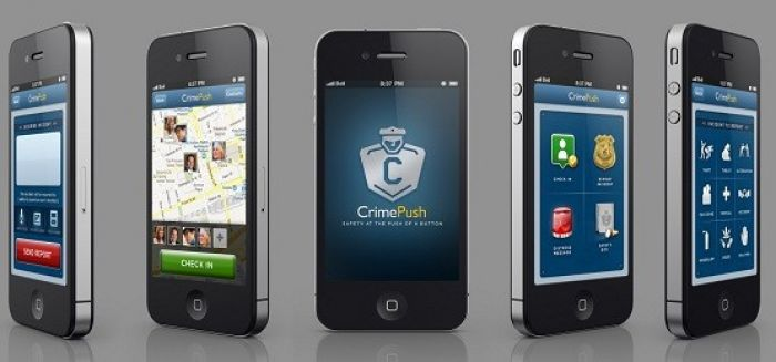 CrimePush App Screens