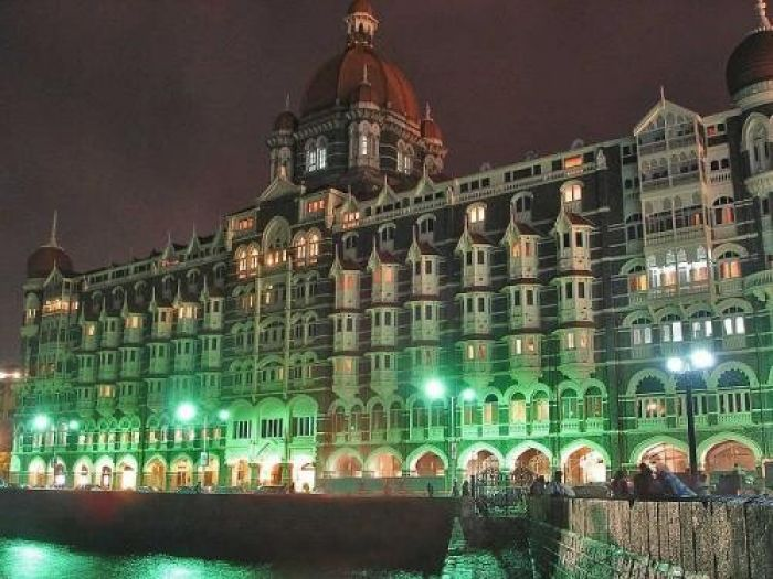 The Taj Mahal Palace & Tower, Mumbai at Night