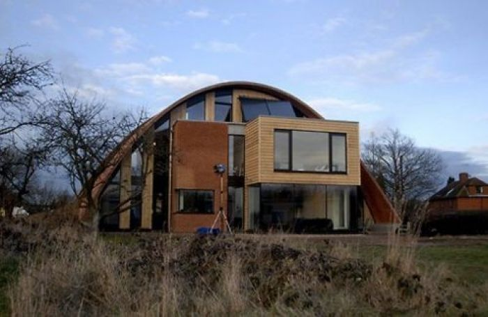 The Finished Luxury Eco Home