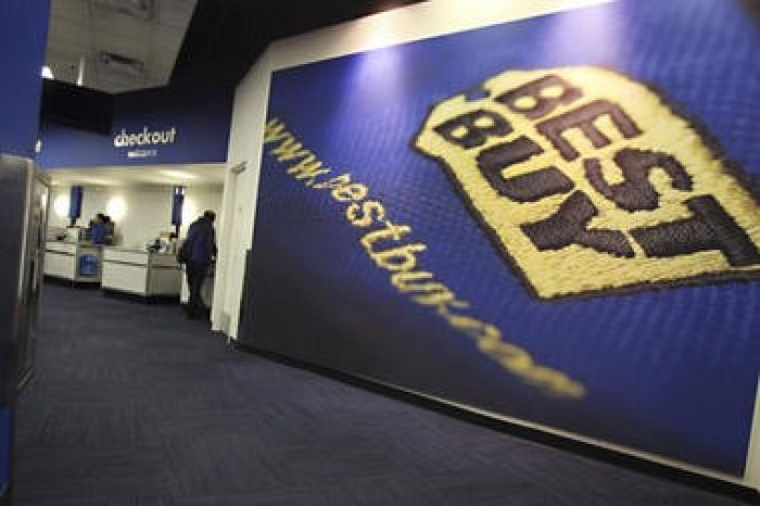 Interior of a Best Buy
