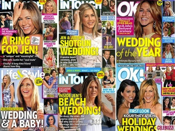 Aniston Wedding Covers