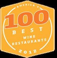 Wine Enthusiast Top 100 Wine Restaurants