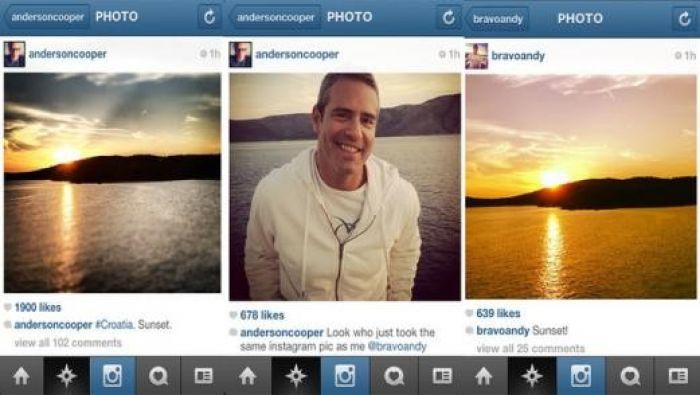 Anderson/Cohen Instagrams