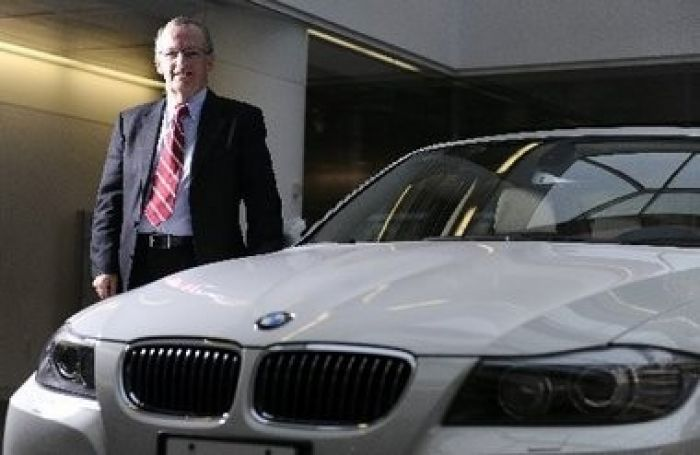President of BMW of North America, Jim O'Donnell