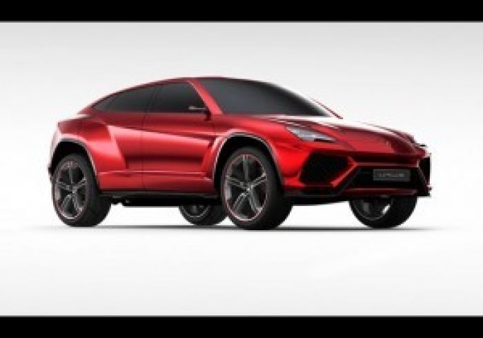 Lamborghini's take on what an SUV should be