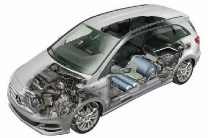 Mercedes Benz B200NG Layout