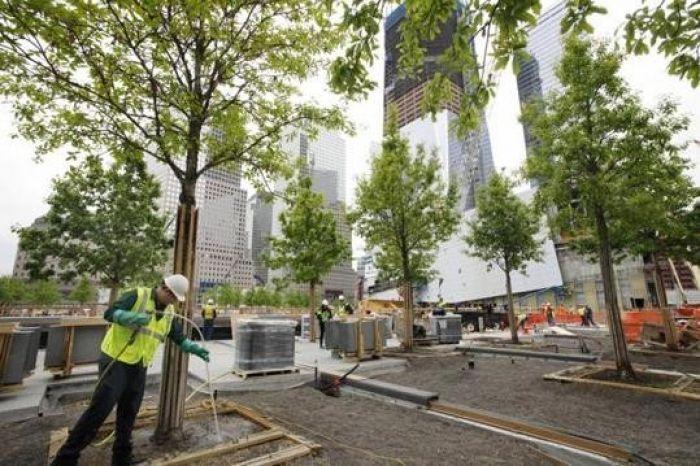 Building the 9-11 Memorial