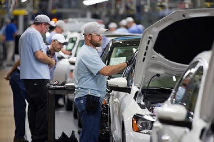 Volkswagen Plant in Chattanooga, TN