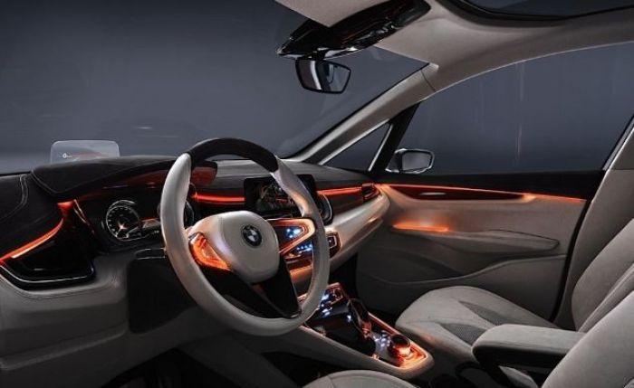 BMW Tourer Concept Interior