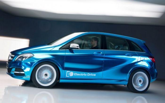 Mercedes Benz B-Class Electric Drive Concept