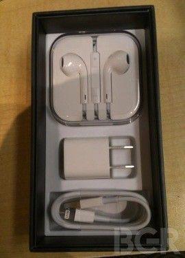 iPhone 5 Box's Innards