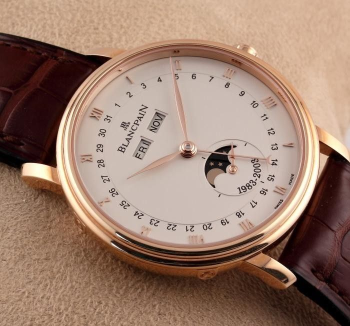 Rose gold Blancpain 2003