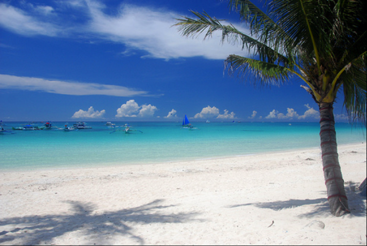 White Beach, Boracay Pilippines