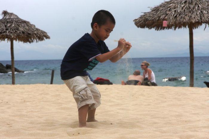Emty Beach on Cu Lao Cham Island