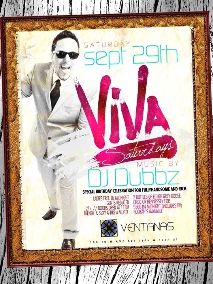 Each and Every Saturday Viva Saturdays at Ventanas