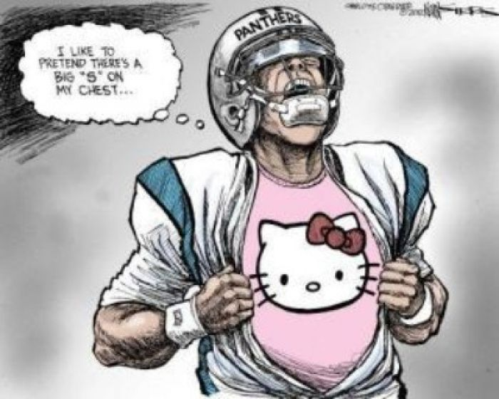 Cam Newton Cartoon