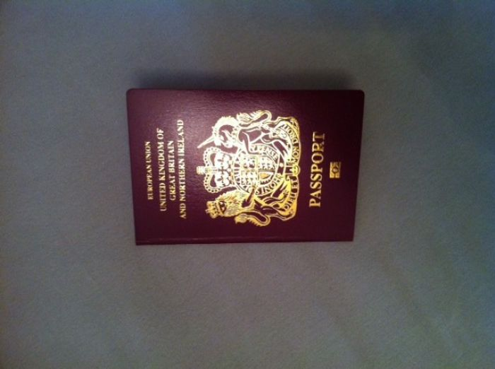 My first Passport!