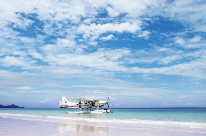 Hayman Island Sea Plane
