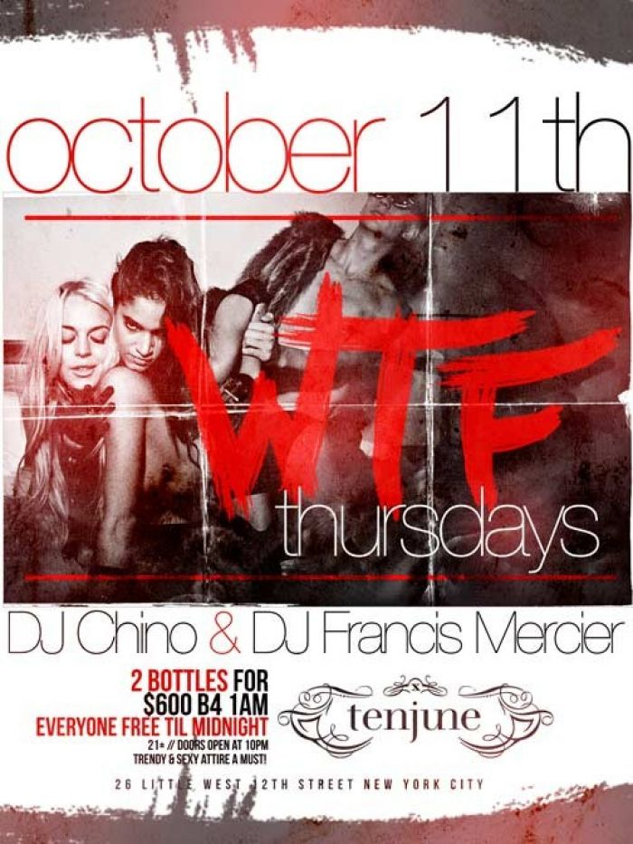 WTF Thursdays at Tenjune