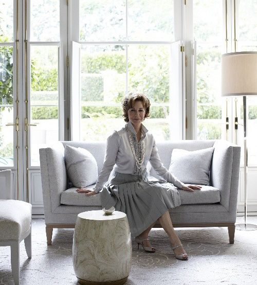 Exclusive style icon barbara barry shares her views on home design