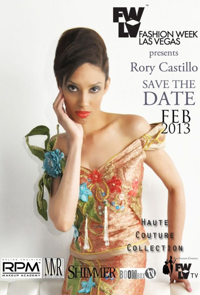 Save The Date Rory Castillo at Fashion Week Las Vegas