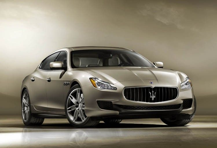 maserati reveals new quattroporte luxury sedan. Black Bedroom Furniture Sets. Home Design Ideas
