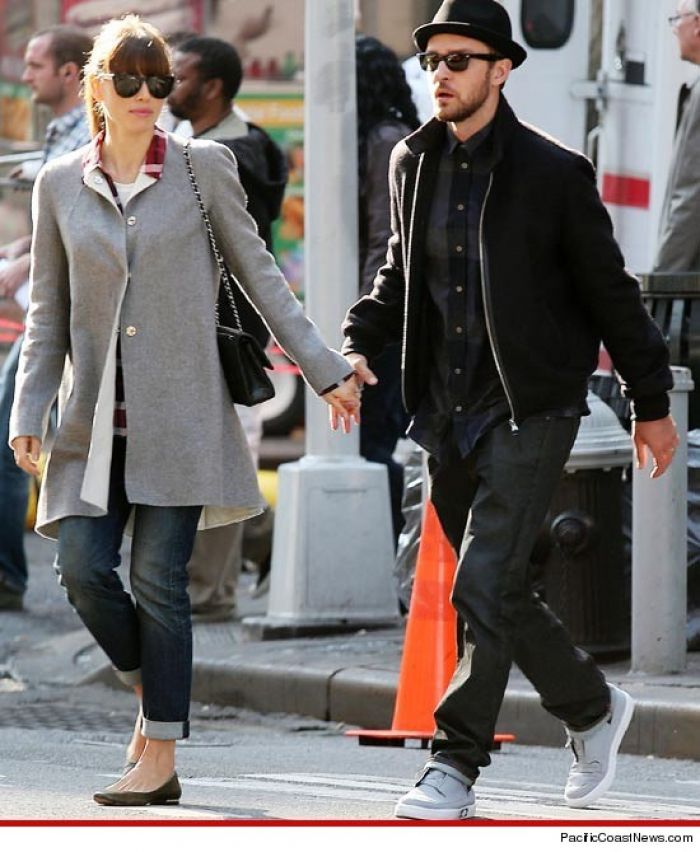 Jessica and Justin in NYC