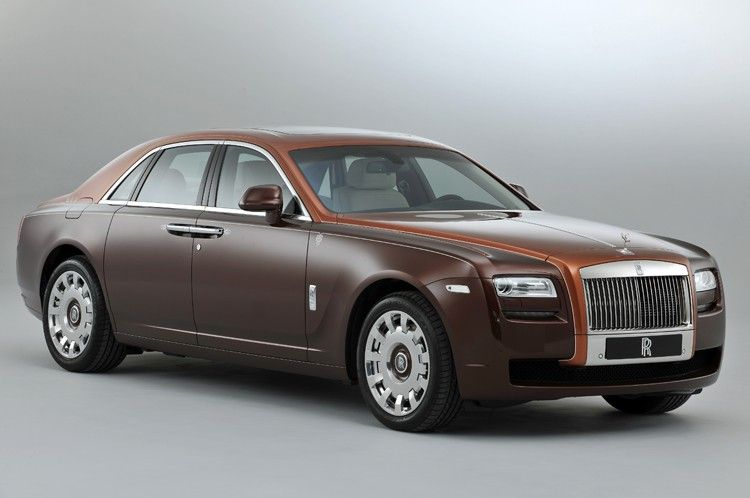 Rolls-Royce special edition ghost
