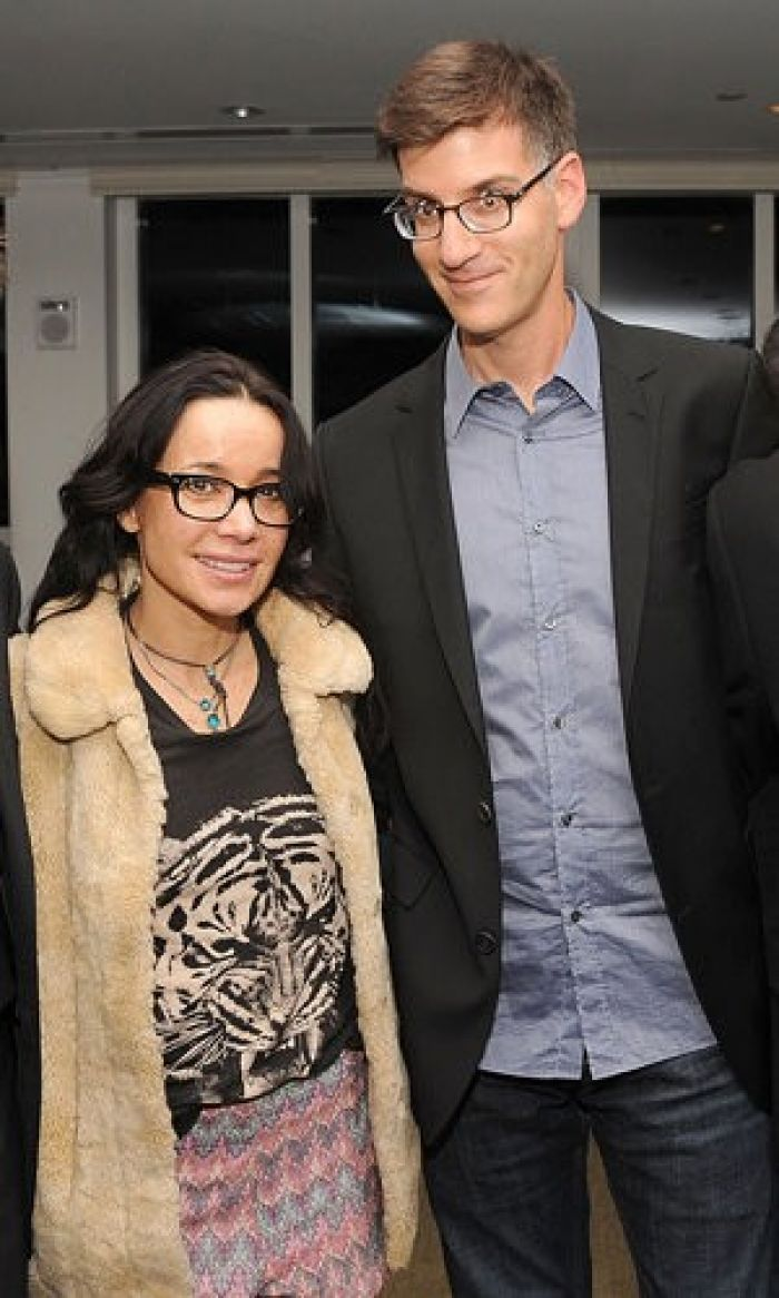 Janeane Garofalo and husband