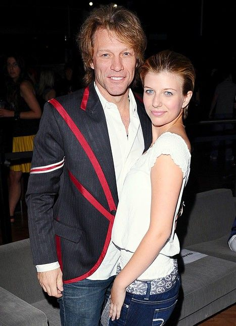 Jon Bon Jovi and daughter Stephanie Rose