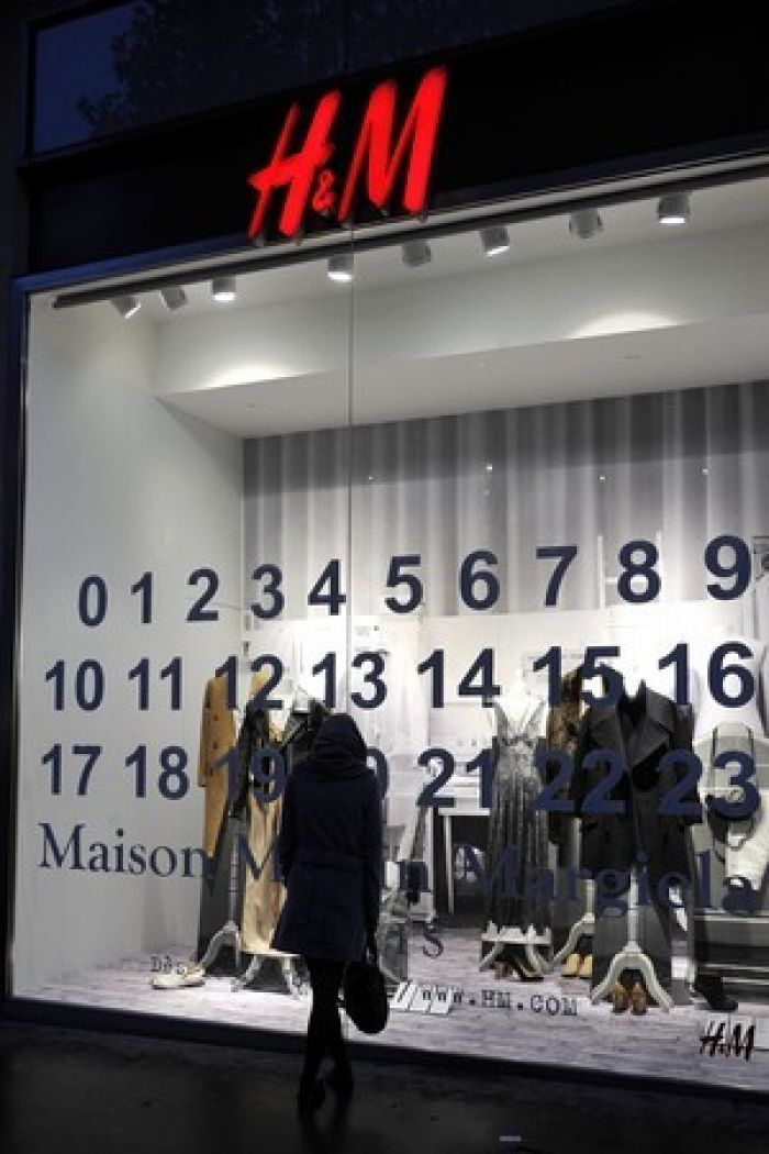 Maison Martin Margiela collection H&M Paris