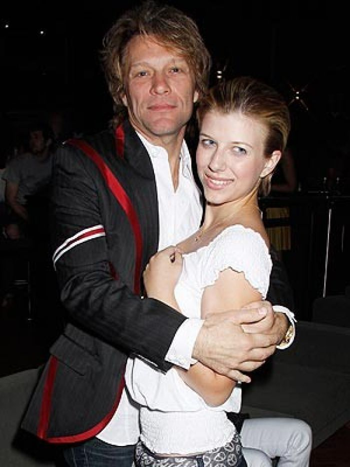 Bon Jovi and daughter