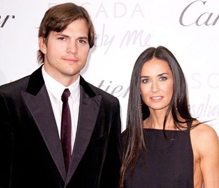 Kutcher and Moore