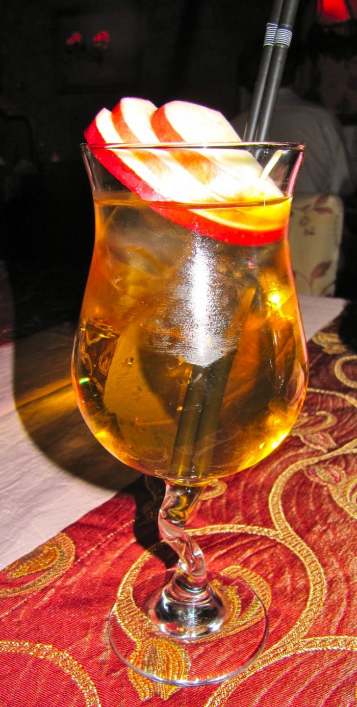 Tatanka or Szarlotka Cocktail