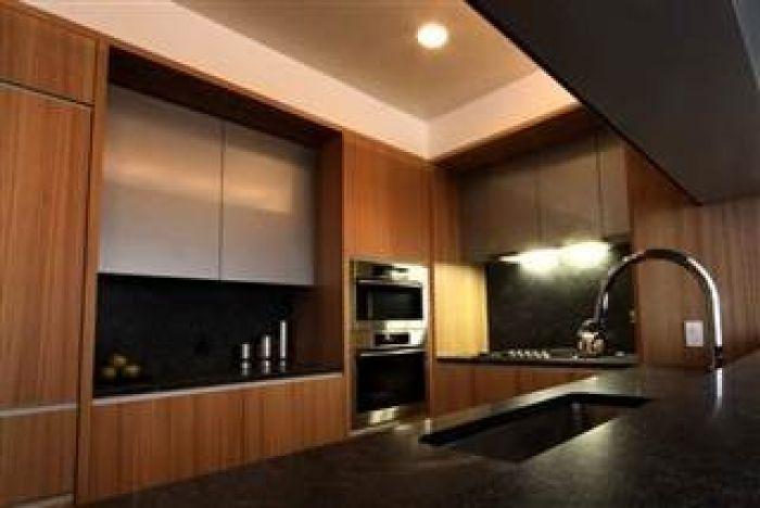 Timberlake and Biel's kitchen