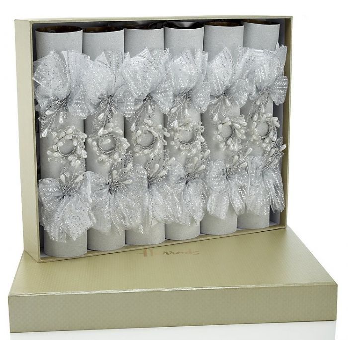 Harrods Frosty Luxury Christmas crackers