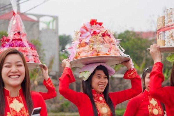 Vietnamese pig chopping ritual