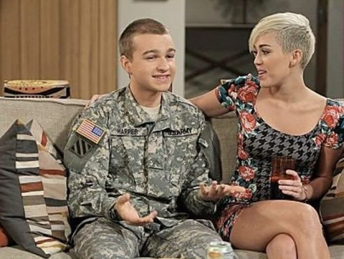 Jones and Miley Cyrus