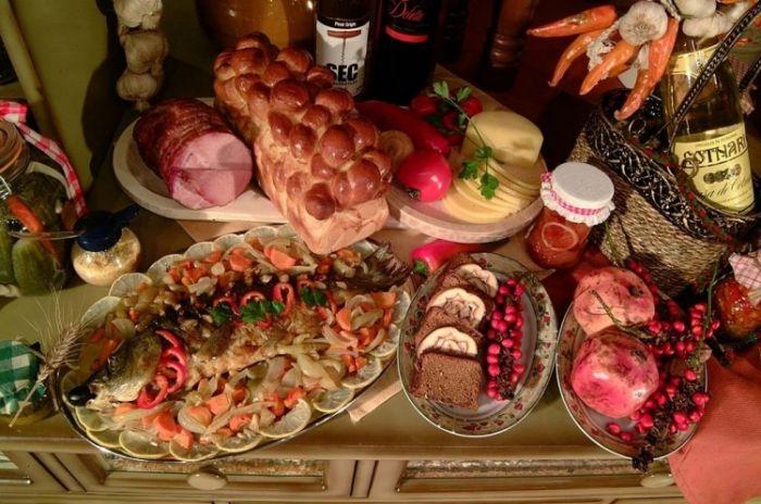 Traditional Romanian Buffet