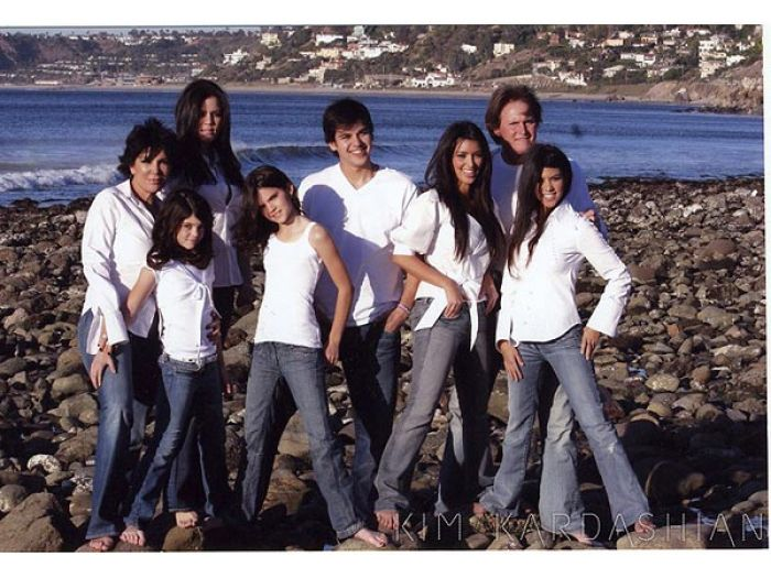2006 Kardashian Family card