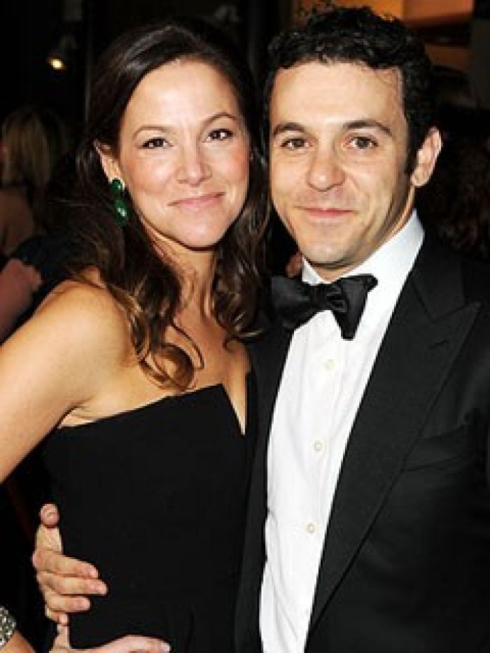 Fred Savage and wife