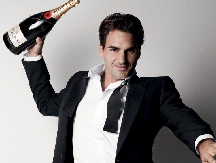 Moet & Chandon Roger Federer