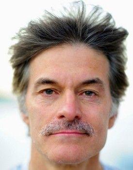 Dr. Mehmet Oz rockin' Movember