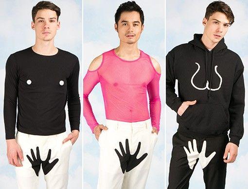 Yoko Ono Fashions for Men