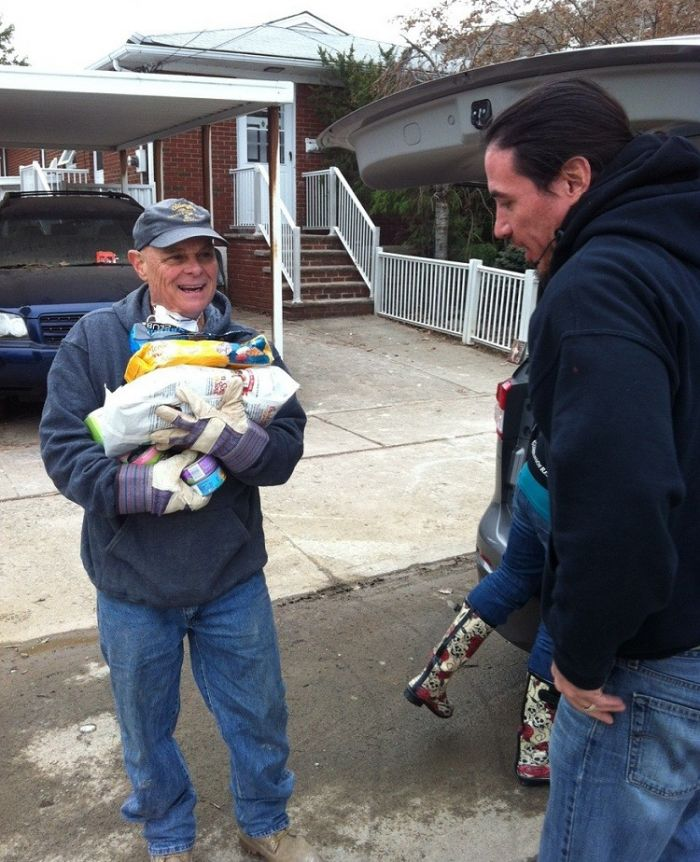 Food for Sandy Victims
