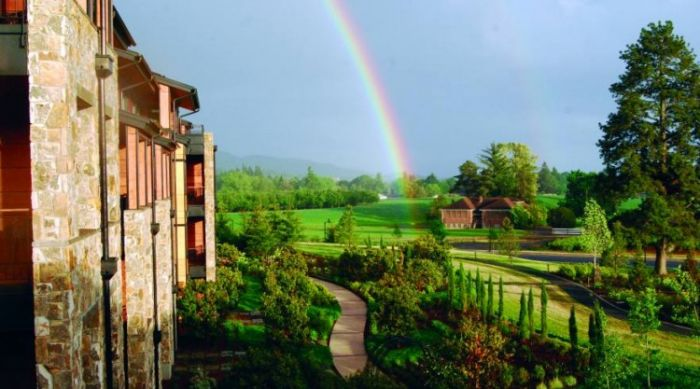 Rainbow at The Allison Inn and Spa