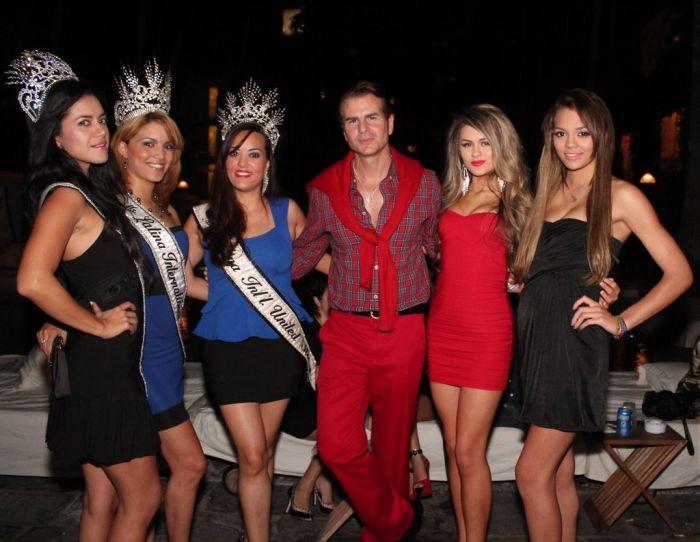 Actor Vincent De Paul with Ms. Latina International Titleholder