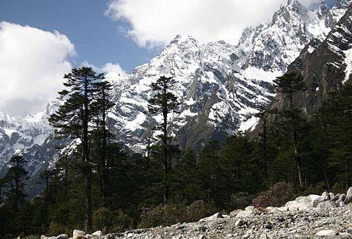 Himalayas from Sikkim