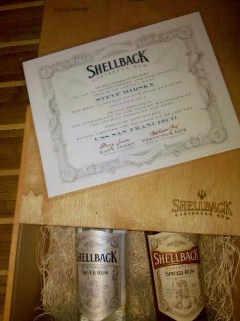 Shellback Rum's Initiation Pack