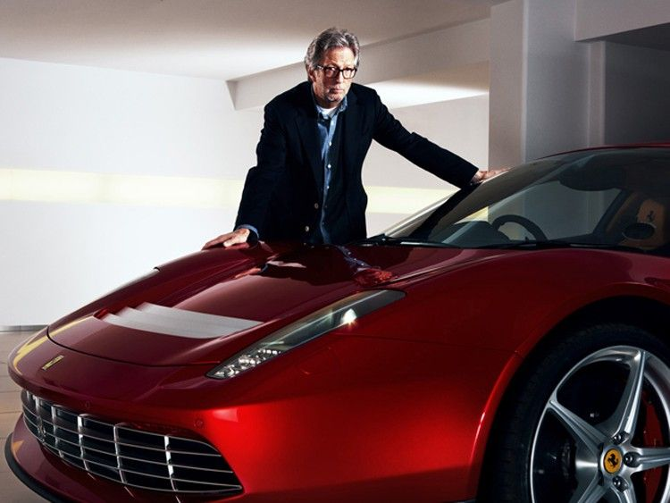 Eric Clapton Ferrari SP12 EC